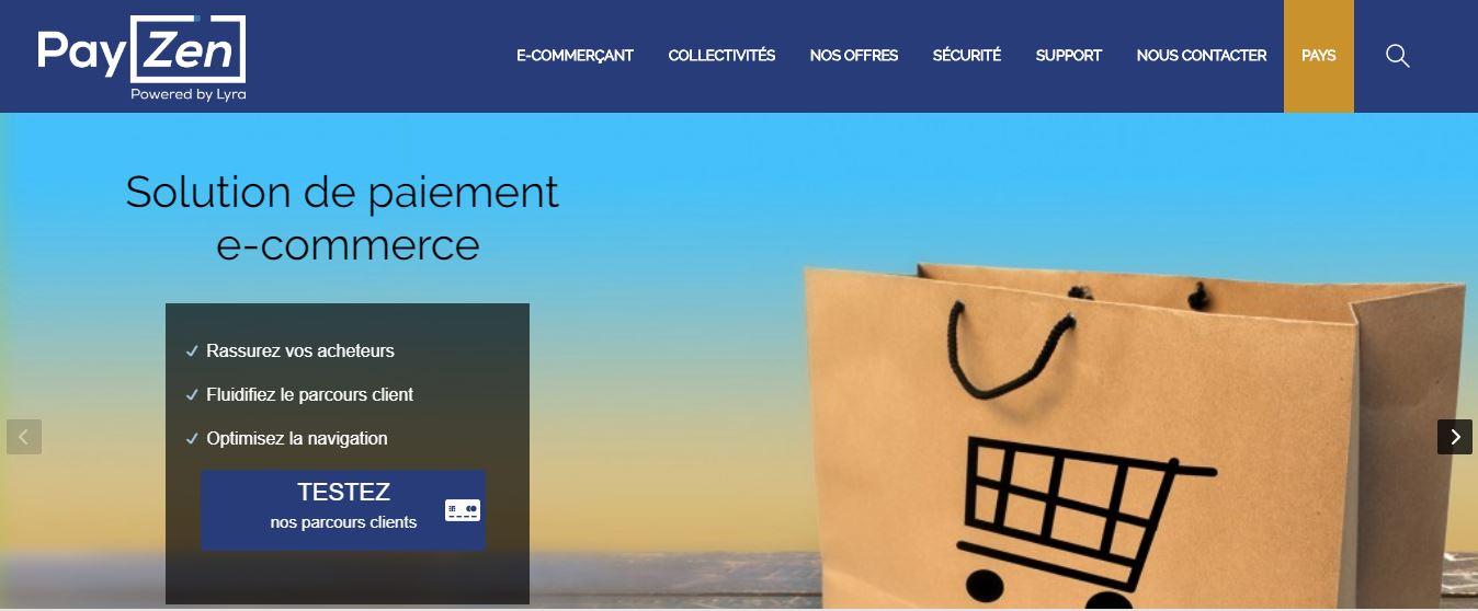 Factures Paiement en Ligne Intégration PayZen Carte bancaire Ecommerce