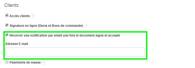 Mail Confirmation Signature En Ligne Facturation