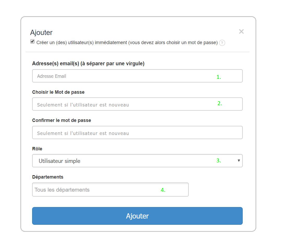 Facture Utilisateur Accès Facturation