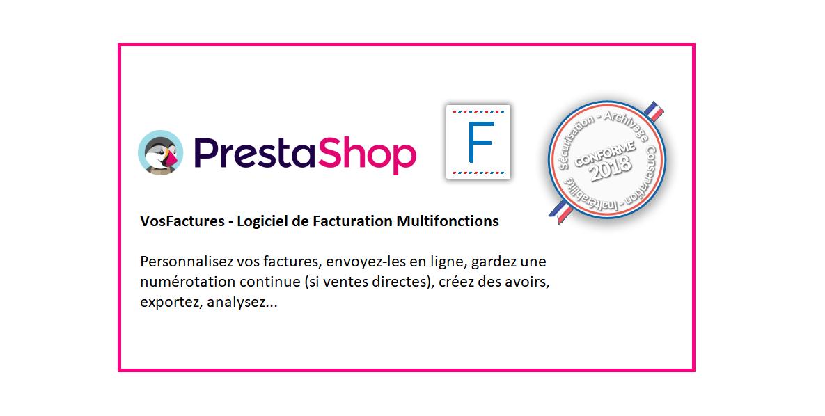 Logiciel Facturation Personnalisé Intégration Prestashop