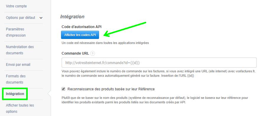 Facturation Intégration Code API Ecommerce Marketplace