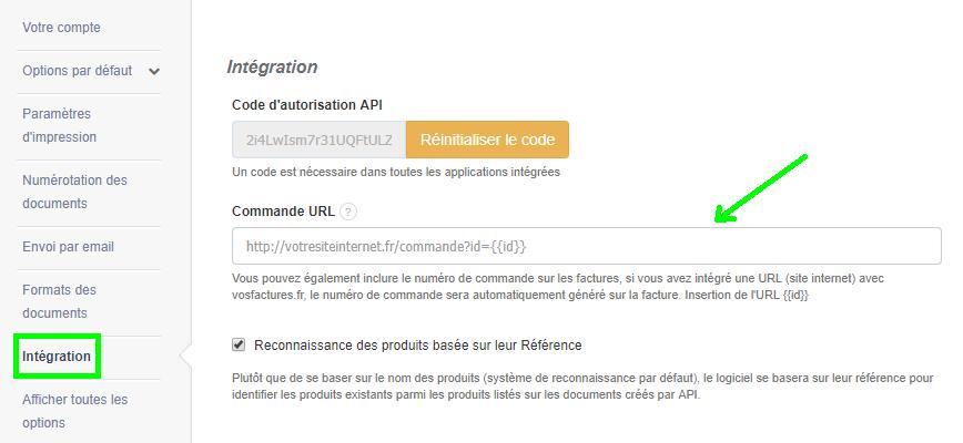 Facturation API Intégration Commande Ecommerce Facile Rapide Simple