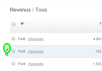 Modification Document Modifier Facturation Facturation en Ligne VosFactures.fr