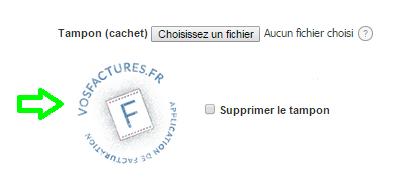 Supprimer Cachet Tampon Facture Cachet Entreprise Personnalisation VosFactures.fr