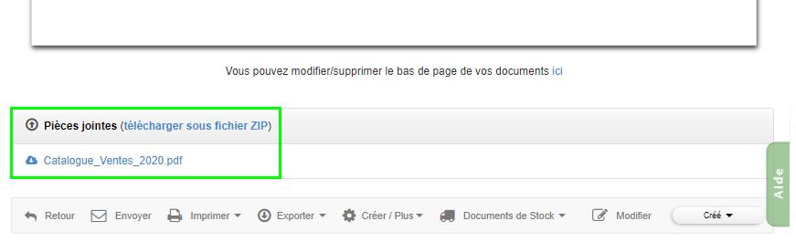 Facturation Ajouter Pièce Jointe Documentation Catalogue VosFactures Télécharger