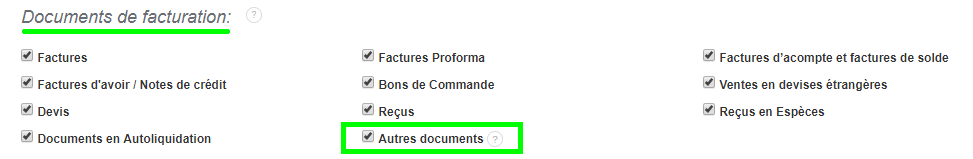 Autre Document Vente Quittance de Loyer, Note d'Honoraires Facturation Adapté Facile VosFactures