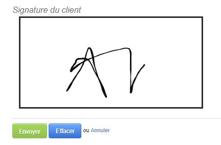 Signature En Ligne Devis Modèle Facture