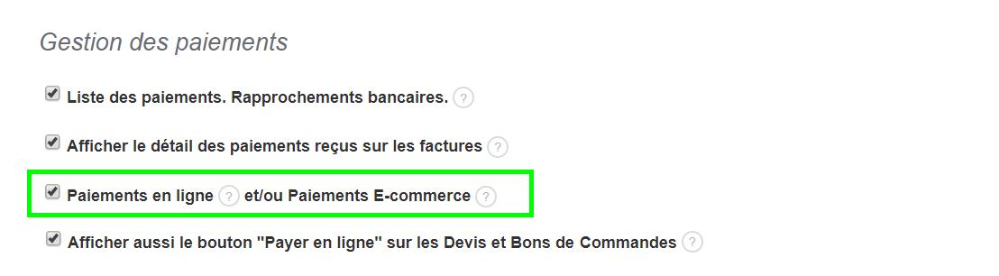 Facturation Paiement en Ligne Gestion E-commerce Ecommerce Vente