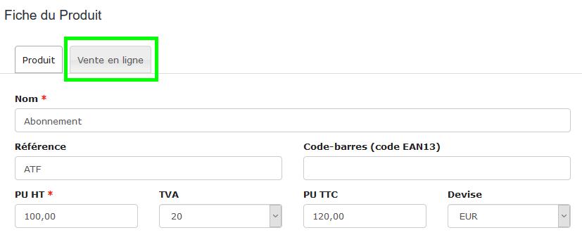 Facturation Ecommerce E-commerce Vente en Ligne Paiement